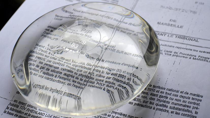 Производителя грудных имплантатов из промышленного силикона начинают судить во Франции