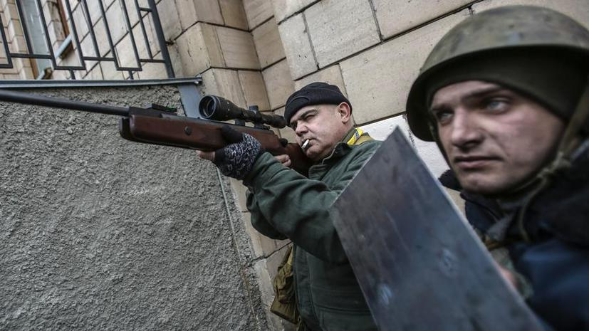 МВД Украины потребовало от всех граждан страны сдать оружие