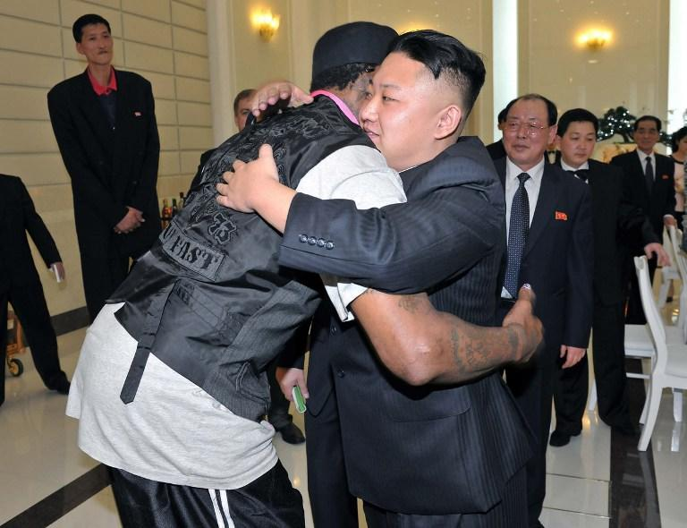 Баскетболист Деннис Родман попросил лидера КНДР освободить арестованного американца