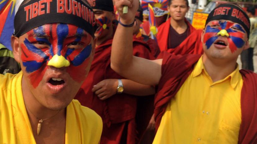Тибетского монаха задержали за подстрекательство к самосожжению