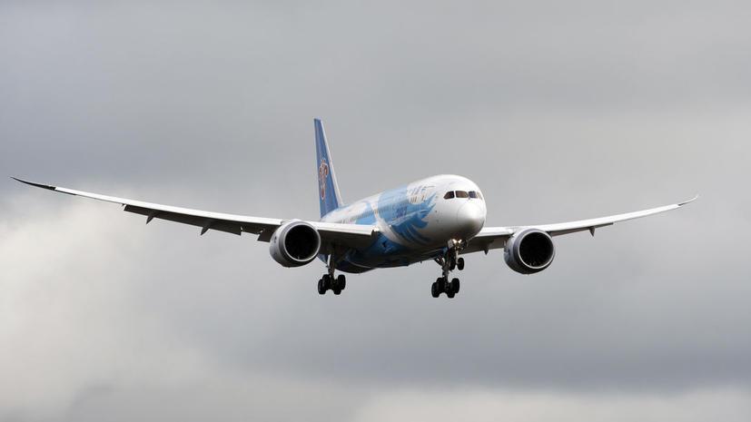 Dreamliner снова поднялся в воздух