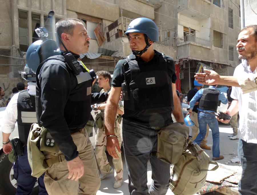 Эксперты ООН: под Дамаском могли быть использованы кустарные боеголовки ракет с химоружием