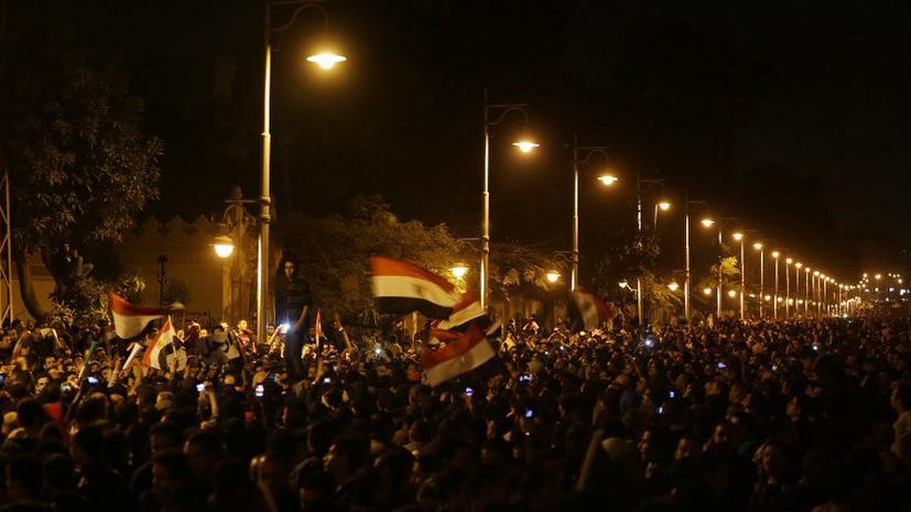 Египетская оппозиция оспорит итоги референдума на марше протеста