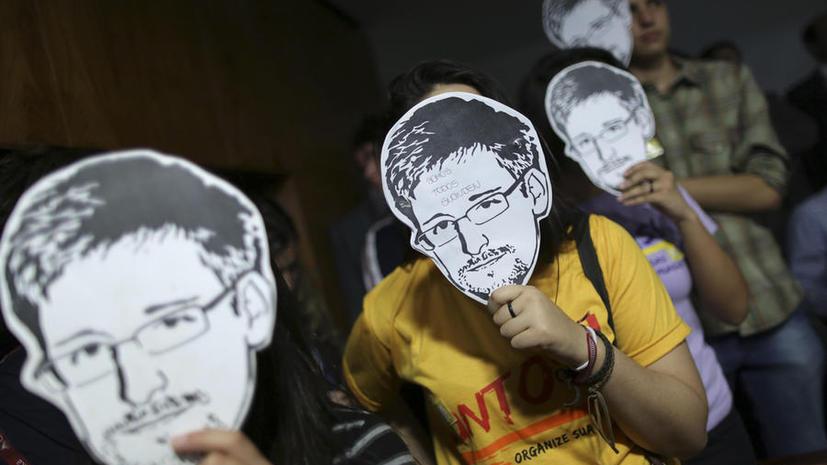 Эдвард Сноуден назвал абсурдными подозрения о его шпионаже в пользу России