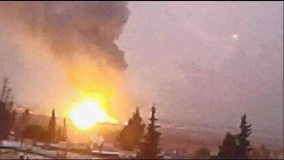 Власти Сирии обвинили ВВС Израиля в нанесении ударов по складу боеприпасов и аэропорту Дамаска