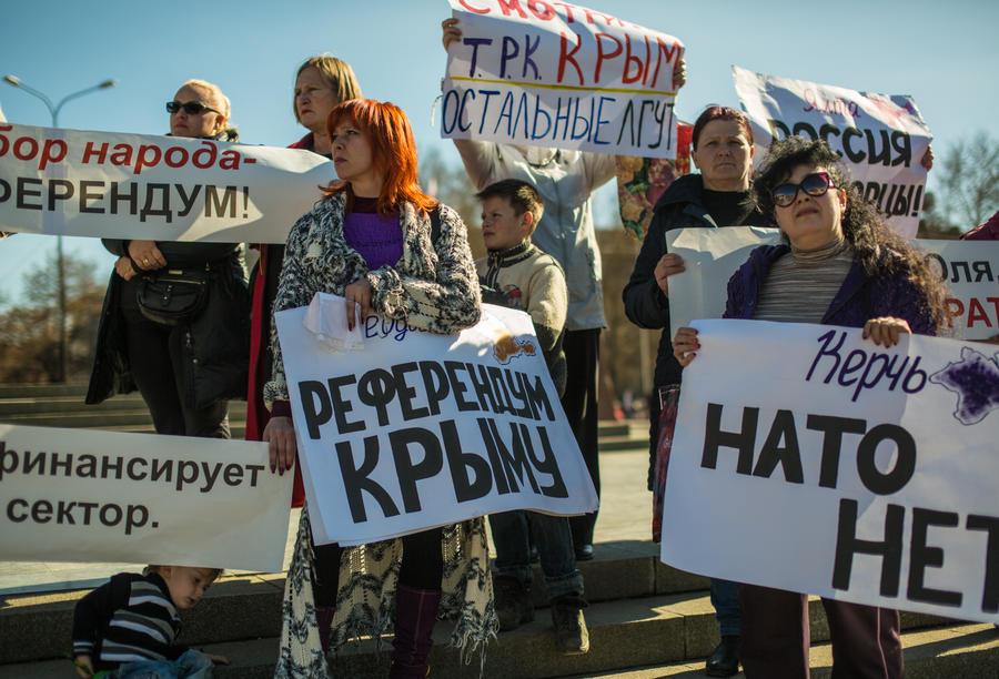 Верховный Совет Крыма: Крым всегда оставался вместе с Россией, и сегодня мы просто это решение закрепили