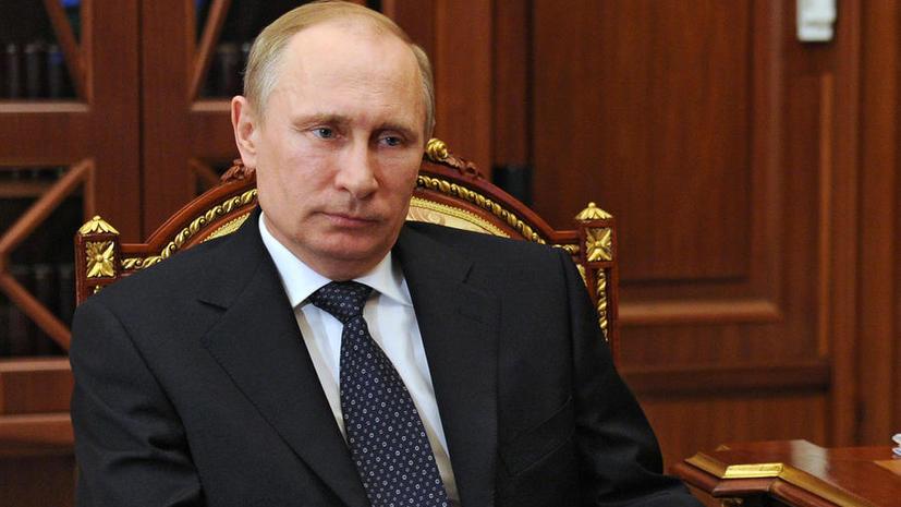 Владимир Путин призвал председателя ОБСЕ начать поиски выхода из кризиса на Украине