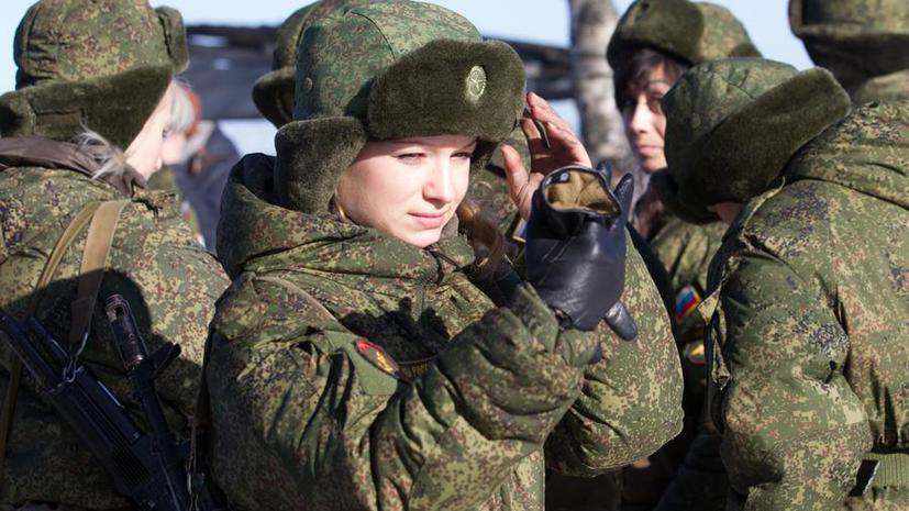 Сильный слабый пол: RT на русском поздравляет женщин в погонах