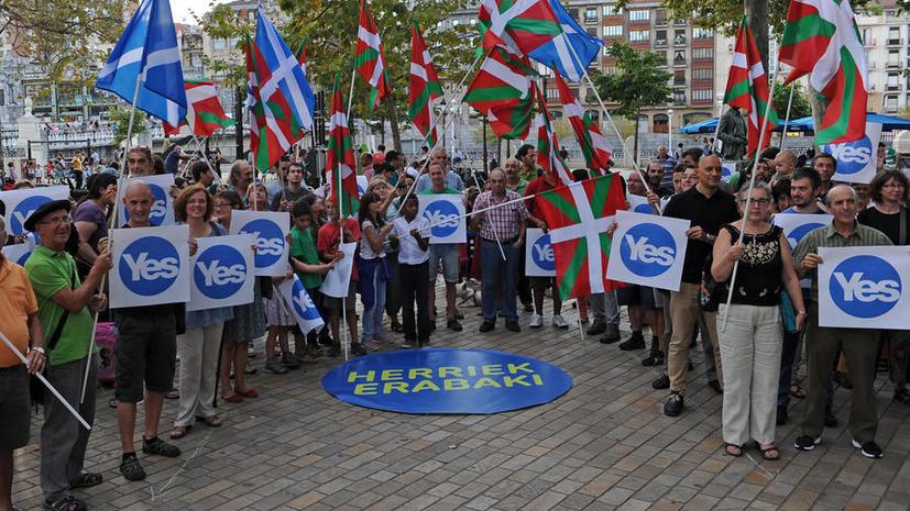 Доклад: Вашингтон следил за ходом подготовки референдума о независимости Шотландии