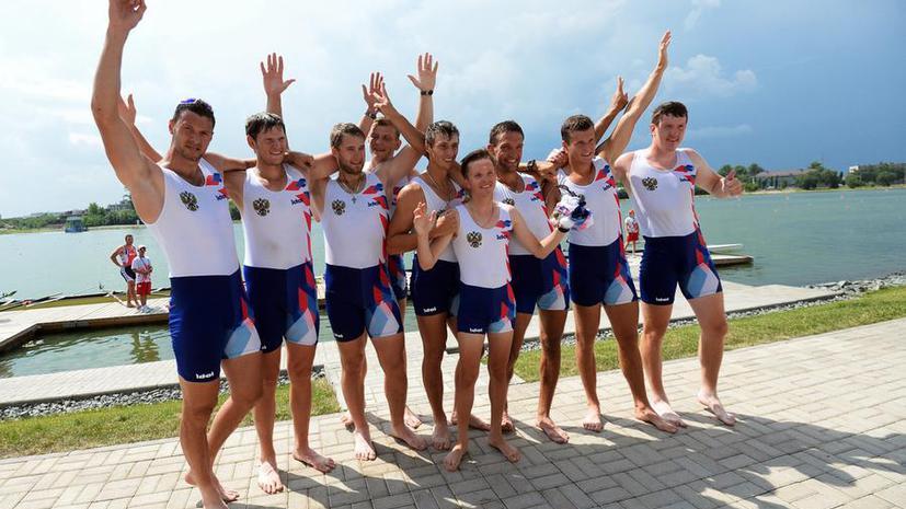 Сборная России преодолела отметку в десять золотых медалей на Универсиаде в Казани