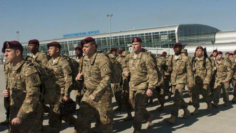 Американские военные прибыли на Украину для обучения солдат ВСУ