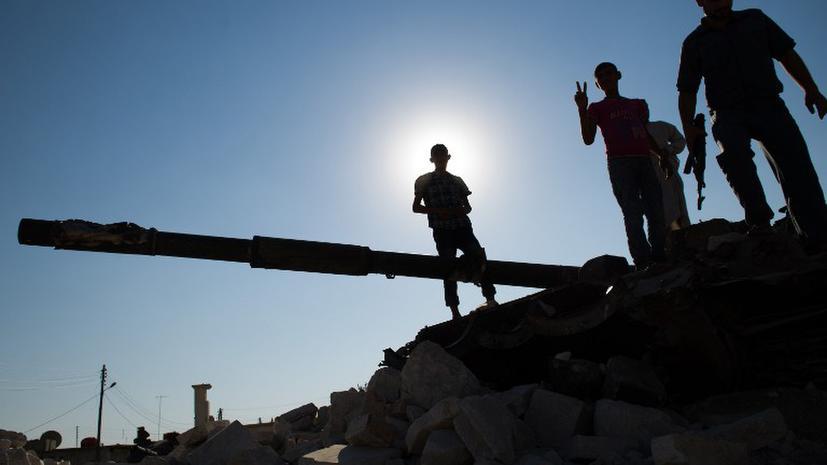 Сирийские повстанцы бросают в бой детей