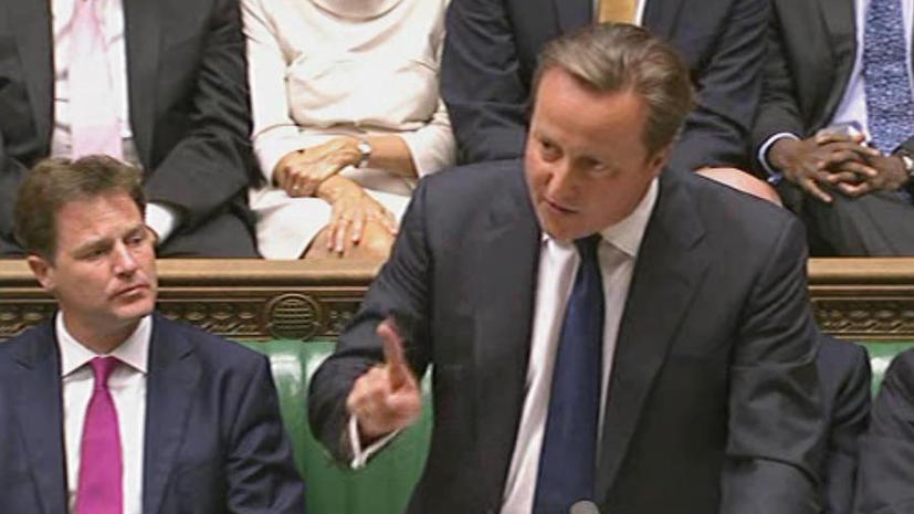 Британский парламент проголосовал против военного вторжения в Сирию