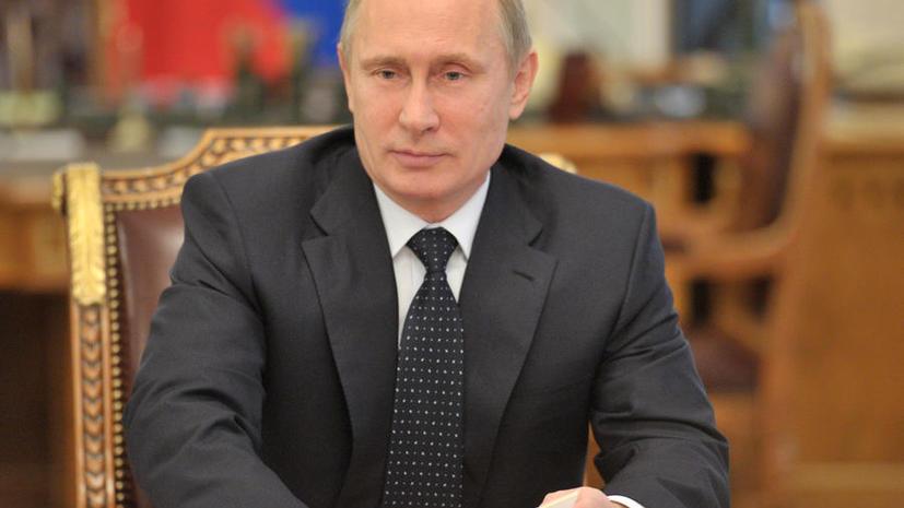 Владимир Путин: В России созданы условия для появления муниципальной милиции, но денег на это нет