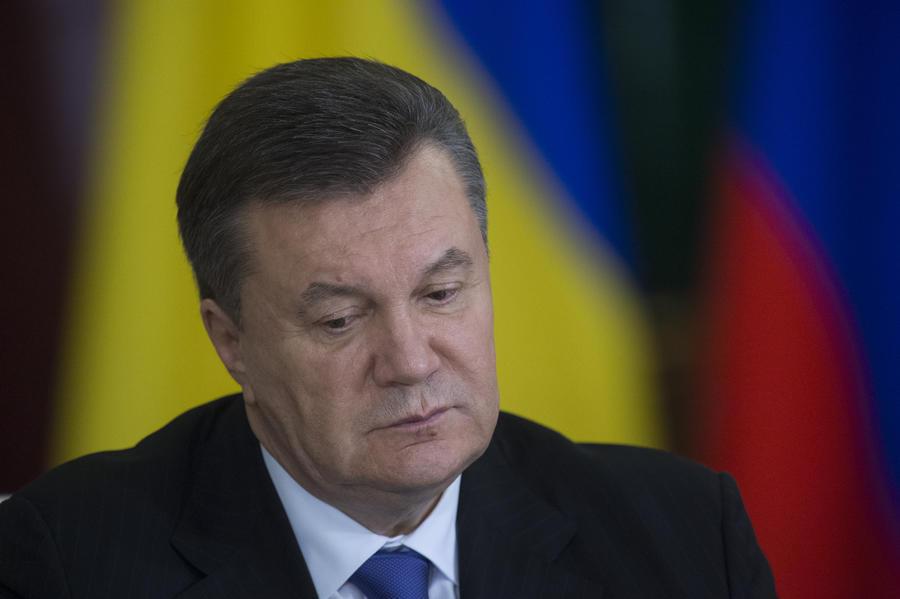 Президент Украины Виктор Янукович госпитализирован