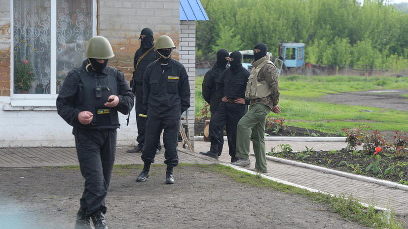 «Правый сектор» расстреливает украинских солдат, отказывающихся штурмовать города