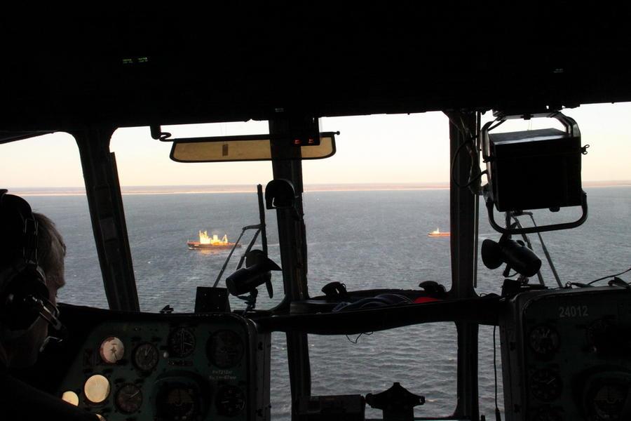 Судно с оружием для сирийских боевиков тонет в Индийском океане