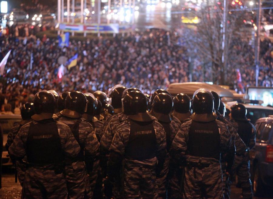 МВД Украины: 19 бойцов «Беркута» подозреваются в причастности к стрельбе в центре Киева
