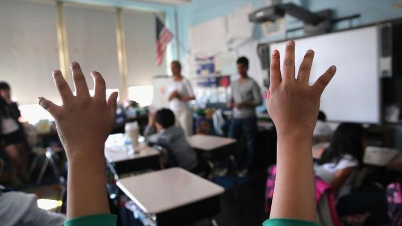 Миллионы американских школьников не знают английского языка