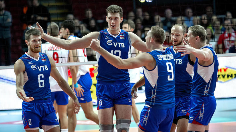 Сборная России вышла в финал чемпионата Европы по волейболу