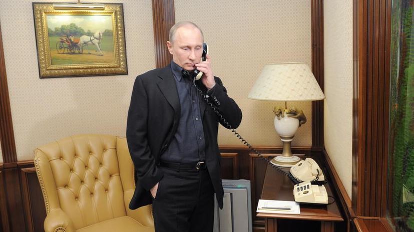 Владимир Путин и Барак Обама обсудили сирийское урегулирование и борьбу с терроризмом