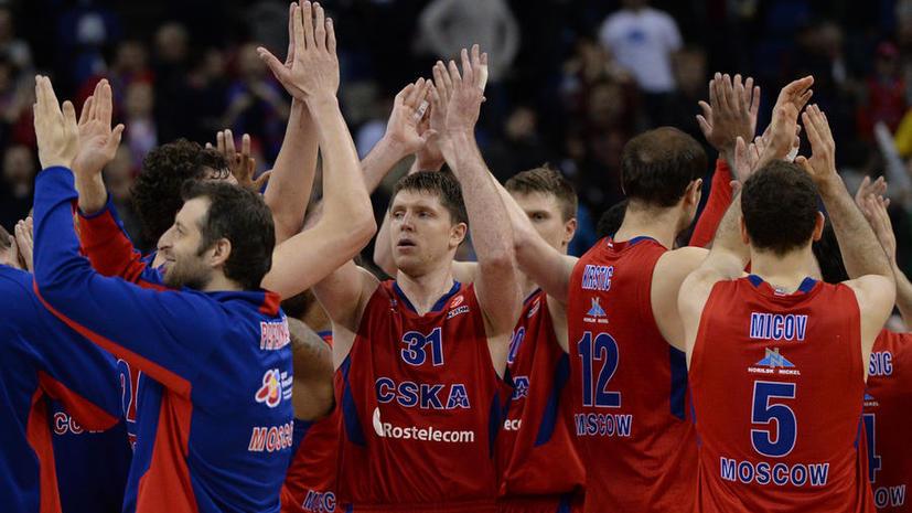 Баскетбольный ЦСКА завоевал бронзу Евролиги