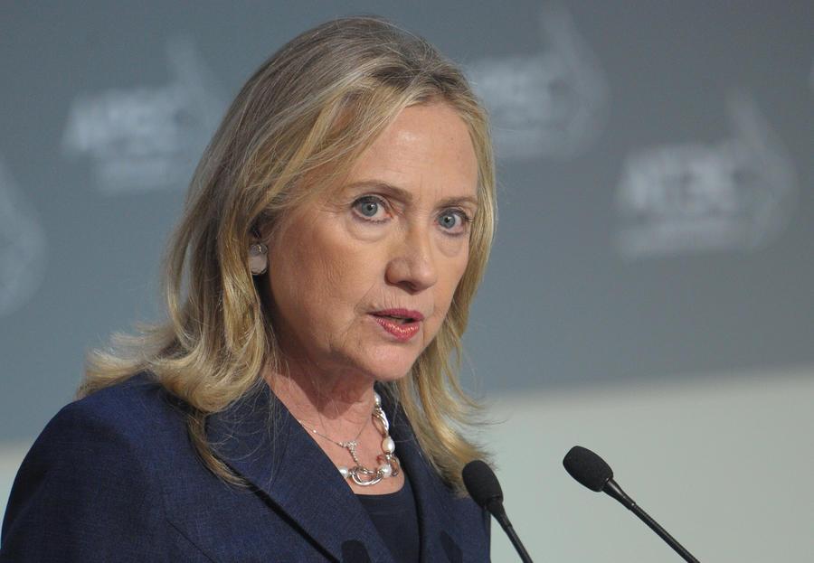 Хиллари Клинтон информировали о передачах российских телеканалов, включая НТВ и RT