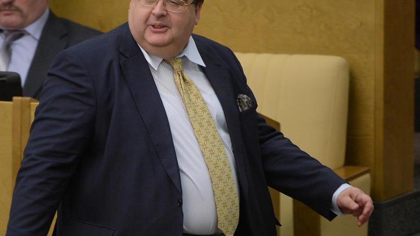 Генпрокуратура не будет лишать Алексея Митрофанова депутатской неприкосновенности
