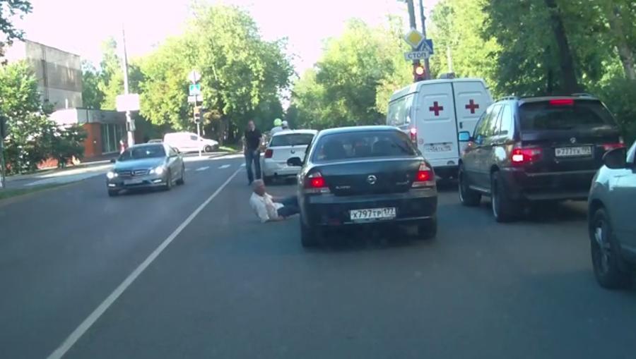 В Москве полиция задержала героя видео с YouTube, сбившего пенсионера