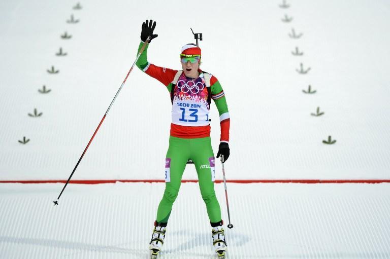 Триумф белорусского биатлона: Дарья Домрачева и Надежда Скардино выиграли золото и бронзу индивидуальной гонки в Сочи