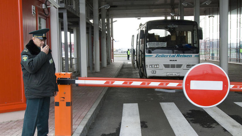 Федеральная таможенная служба РФ усилила контроль на границе с Украиной