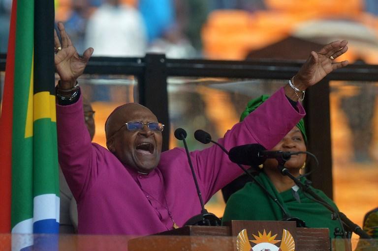 Дом епископа Десмонда Туту обокрали, пока он служил поминальную мессу по Нельсону Манделе