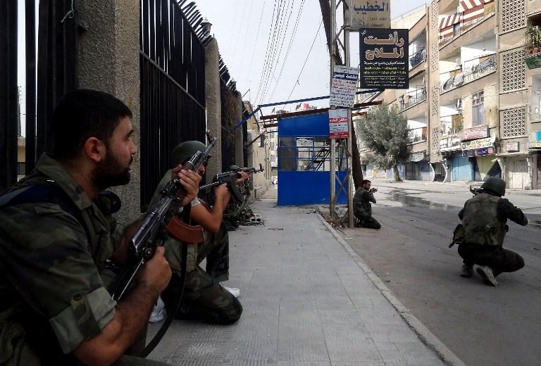 Сирийские повстанцы напали на крупную базу ВВС на северо-западе страны