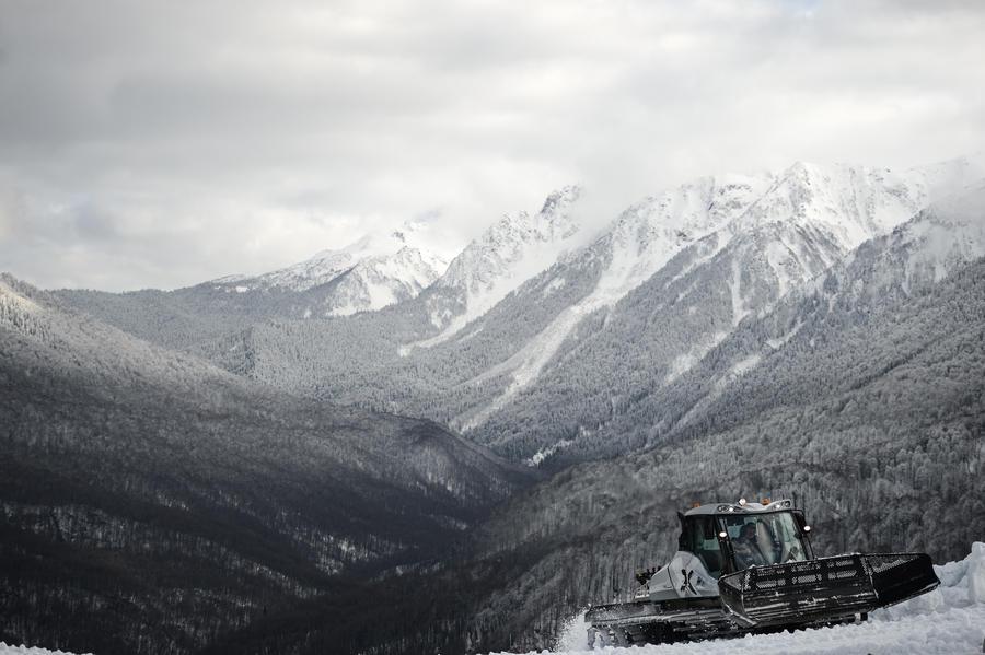 Сочинский климат не оказался помехой для проведения зимней Олимпиады
