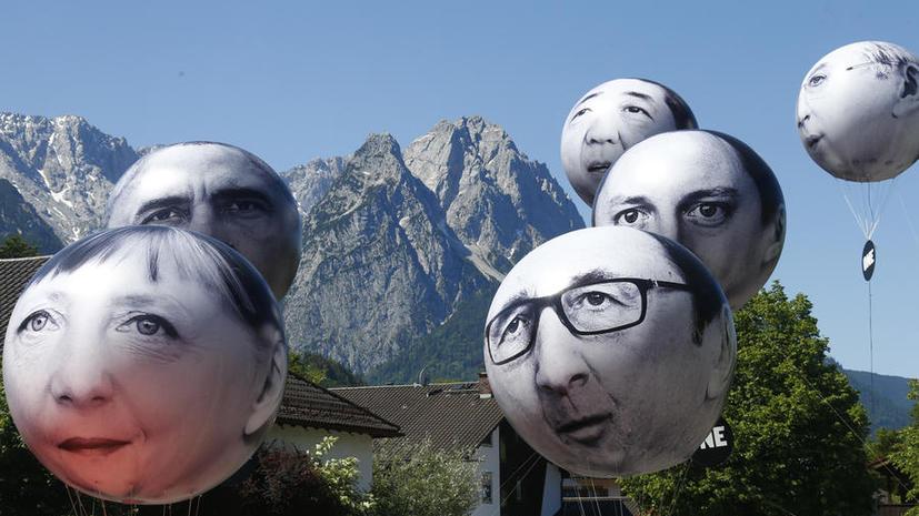 СМИ: Антироссийские санкции станут одной из главных тем саммита G7 в Германии