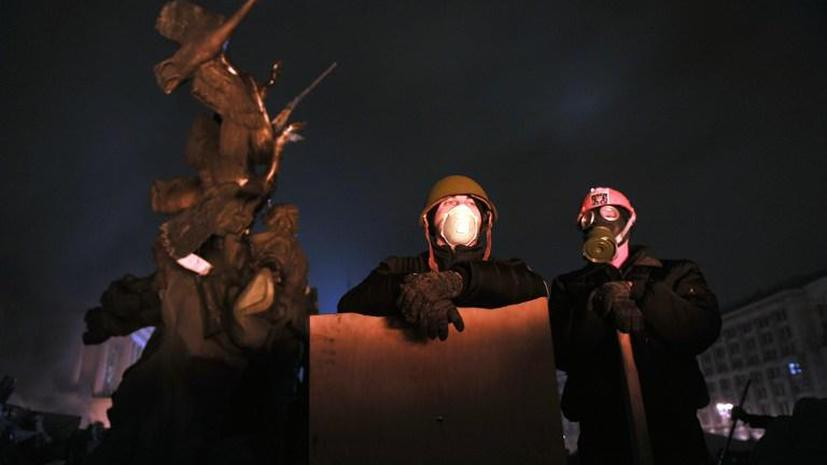 Янукович и оппозиция договорились о перемирии