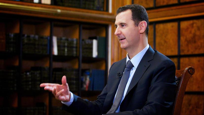 Башар Асад: Позиция России способствует установлению нового баланса сил на мировой арене