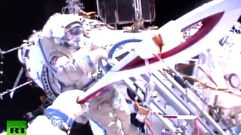 Олимпийской факел вынесли в открытый космос впервые в истории