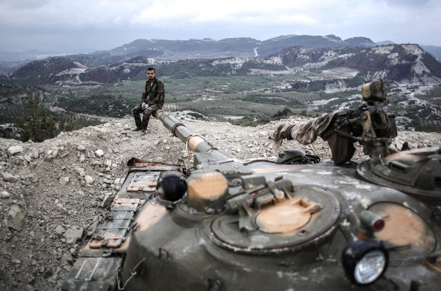 Сирийские войска освободили христианский город к северу от Дамаска