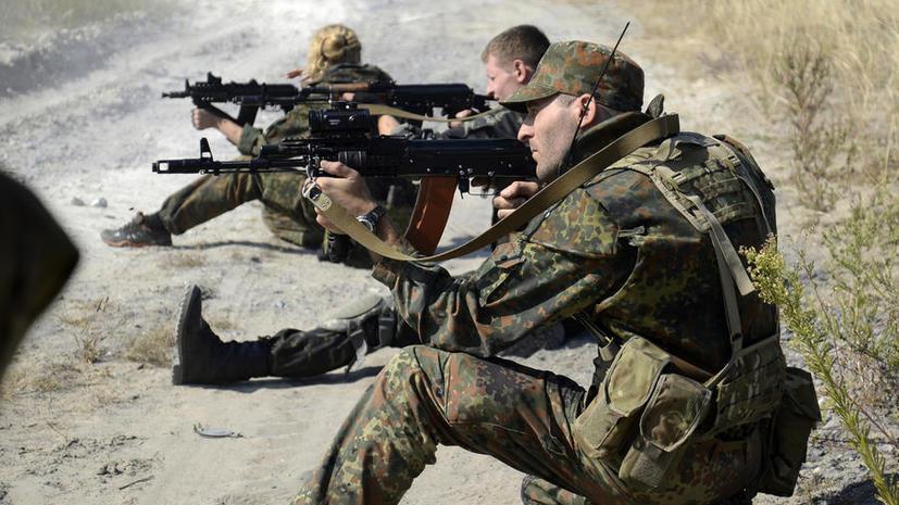 Бойцы украинского батальона, подозреваемые в пытках, готовы отстреливаться в случае штурма базы