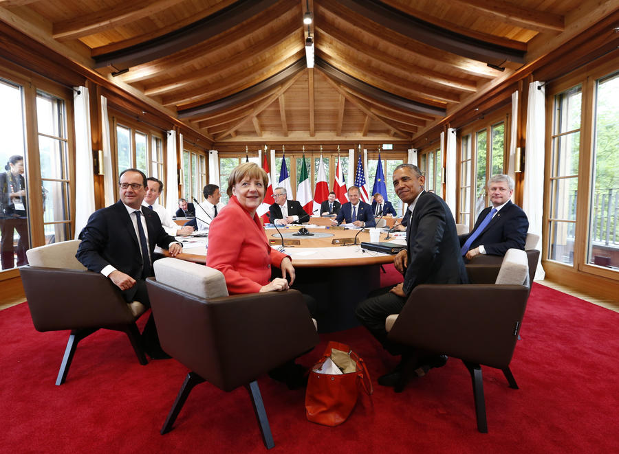 Франк-Вальтер Штайнмайер: нужно возвращаться к формату G8