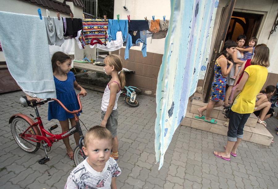 ООН: 230 тыс. украинцев оставили свои дома из-за вооружённого конфликта на востоке страны