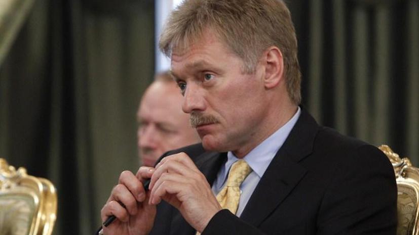 Дмитрий Песков: Заявления о присутствии российских войск на востоке Украины являются абсурдными
