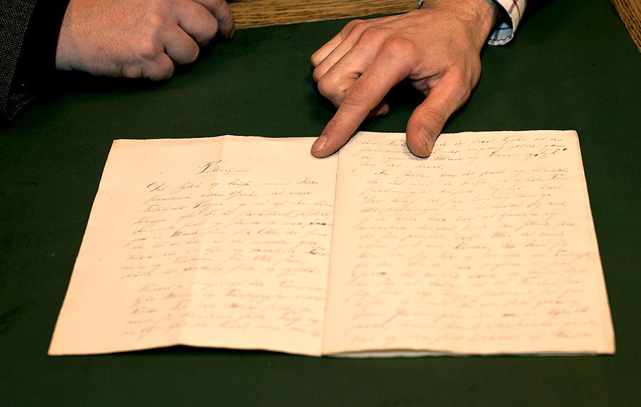 Исследователи обнаружили самую раннюю рукопись Андерсена