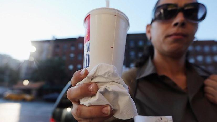 Суд США запретил ограничивать американцев в газировке
