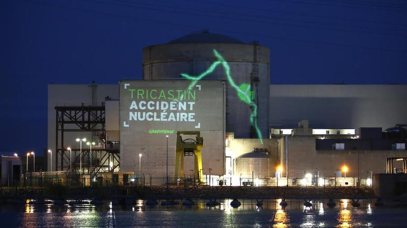 Во Франции задержаны активисты Greenpeace, проникшие на территорию АЭС