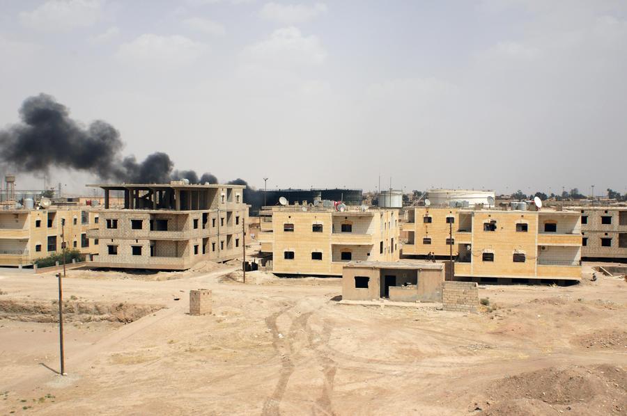 Минобороны: Самолёты ВС РФ приступили к нанесению точечных ударов по позициям террористов в Сирии