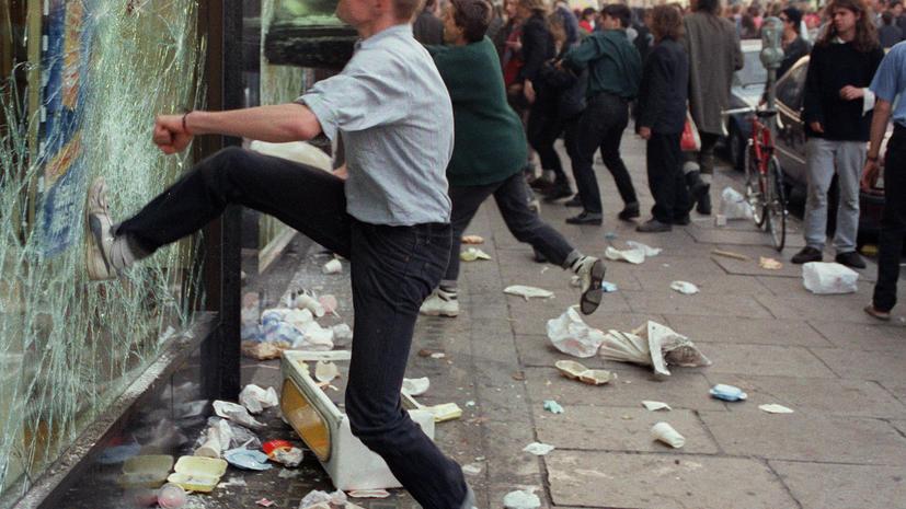 Великобритания терпит поражение в борьбе с насилием