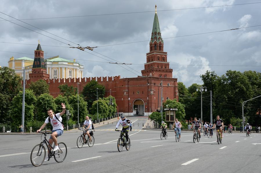 Москва присоединилась ко всемирной акции «День без автомобиля»