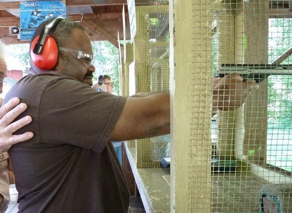 Полицейский в США открыл огонь по душевнобольному с игрушечным пистолетом